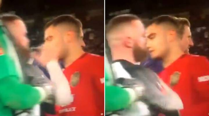 Man Utd Fans Think Wayne Rooney's Reaction To Andreas Pereira Last Night Is Hilarious
