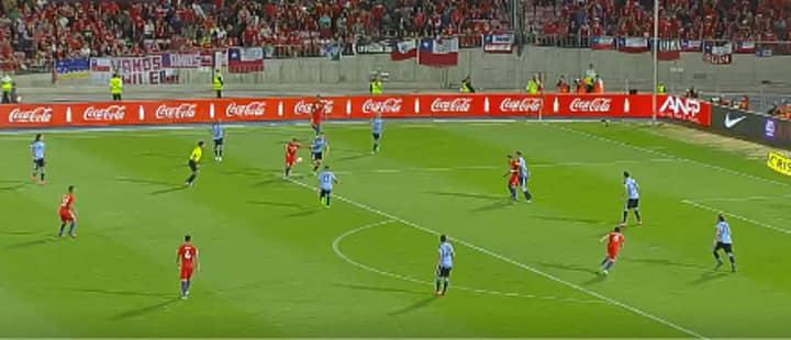 WATCH: Alexis Sanchez' Stunning Strike Against Uruguay In World Cup Qualifier