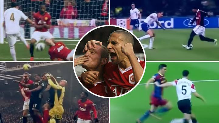 Rio Ferdinand And Nemanja Vidic Compilation 'Proves' They Were The Greatest Premier League Centre-Back Duo