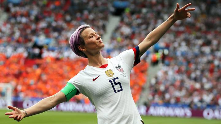Megan Rapinoe Fumes At US Capitol Rioter Wearing Women's National Team Shirt