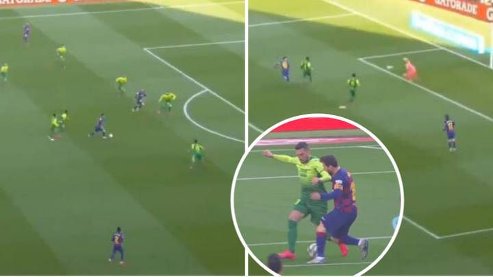 Lionel Messi Ends Longest La Liga Goal Drought With Typically Gorgeous Goal