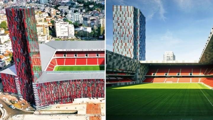 Albania's National Stadium Is A Thing Of Beauty