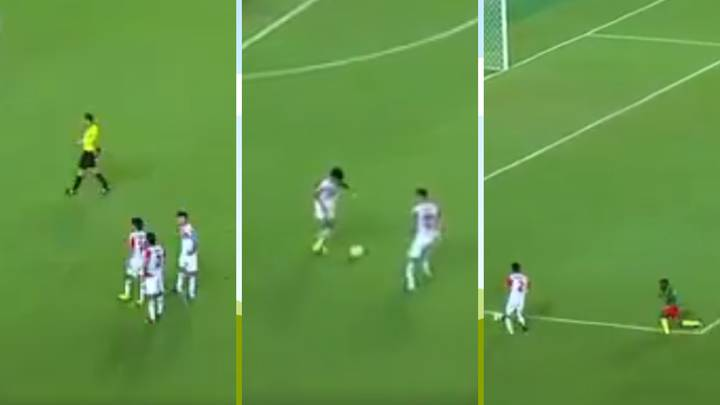 Tajikistan's Free Kick Routine At The U-17 World Cup Is Brilliant