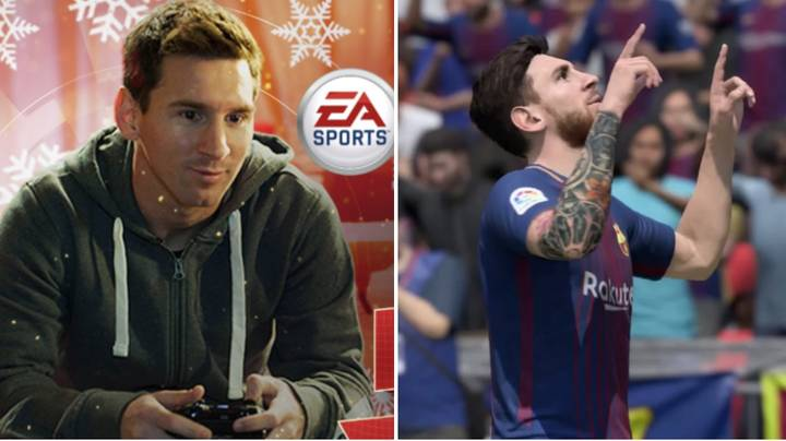 Who Lionel Messi Always Played As On FIFA