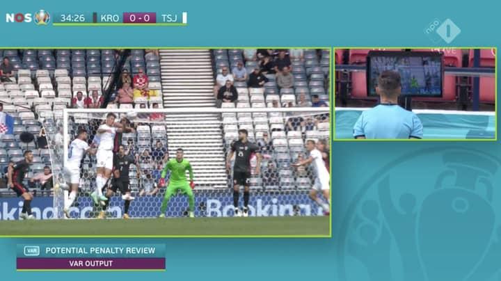 Dejan Lovren And Croatia Concede Penalty After Controversial VAR Call