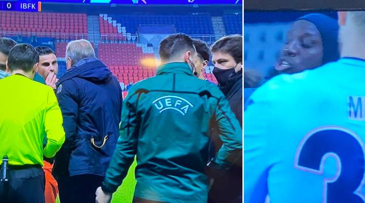 Istanbul Basaksehir And PSG Players Walk Off During Champions League Clash After Accusing Fourth Official Of Racism