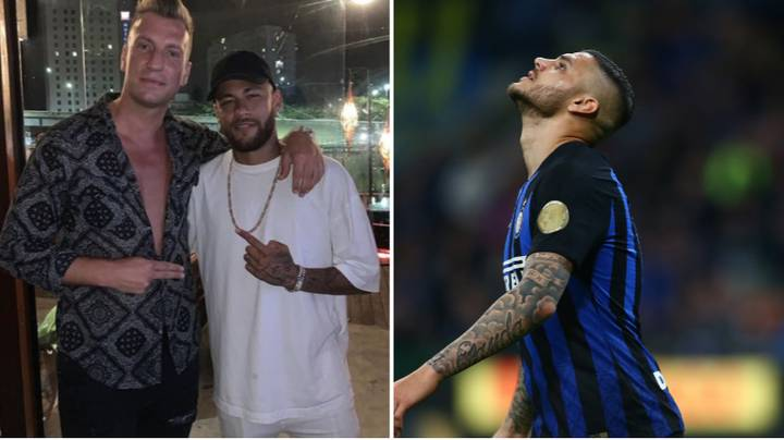 Maxi Lopez Posted Praise For Neymar Just Before Mauro Icardi Signed For PSG