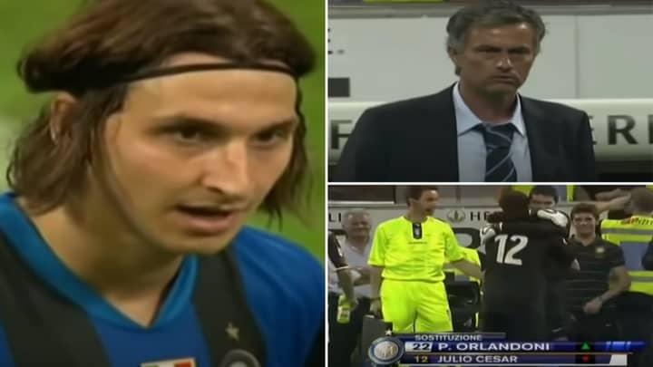 Sensational Footage Of Jose Mourinho's Finest Piece Of Sh*thousery Involves Ibrahimovic