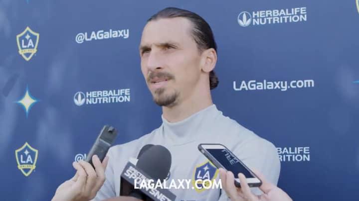 LA Galaxy's Zlatan Ibrahimovic Thinks He's 'Bigger Than All Of MLS'