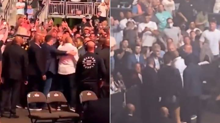 Daniel Cormier Pulled Away From Jake Paul By Security At UFC 261