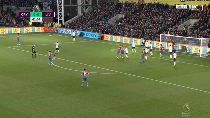 Crystal Palace Goal Against Liverpool Controversially Ruled Out By VAR For Foul On Dejan Lovren