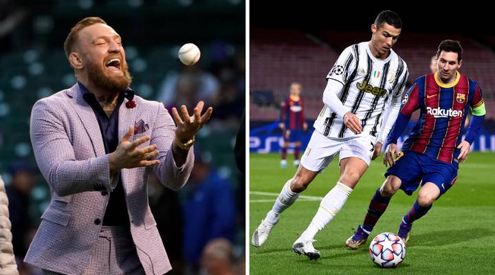 Conor McGregor Claims He's Richer Than Messi And Ronaldo After Embarrassing Baseball Pitch