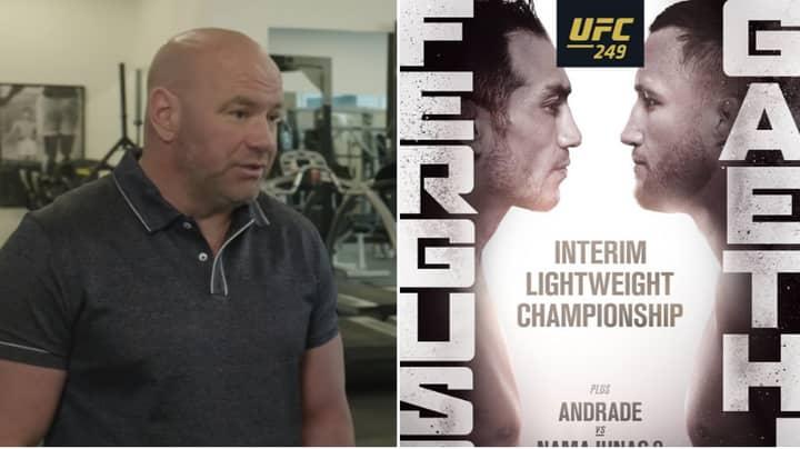 Dana White Reveals Why He's Keeping UFC 249 Location A Top Secret
