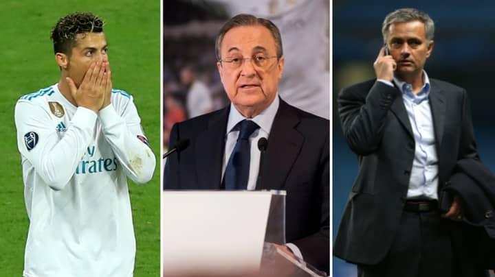 Real Madrid President Florentino Perez Calls Jose Mourinho And Cristiano Ronaldo 'Idiots' In More Leaked Audio