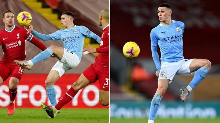 Phil Foden Branded 'A £200 Million Pound Player' After Stunning Performance Against Liverpool