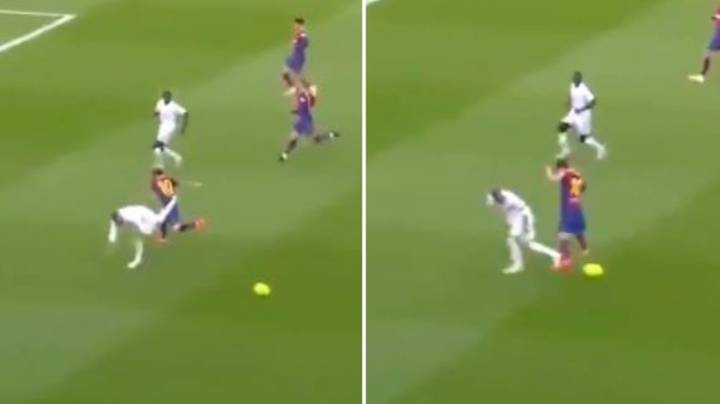 The Time Sergio Ramos Schooled Lionel Messi With An Outrageous Tackle