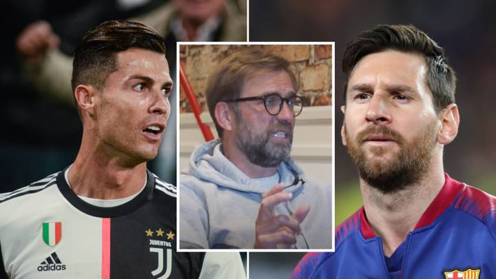 Jurgen Klopp Gives Classy Response To The Lionel Messi And Cristiano Ronaldo Debate