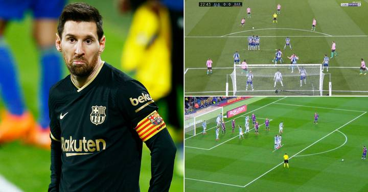 La Liga Teams Have Worked Out How To Stop Lionel Messi Scoring Free-Kicks
