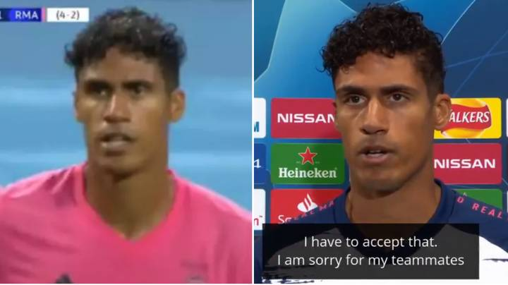 Raphael Varane Gives Incredibly Honest Post-Match Interview After His Costly Mistakes Vs. Manchester City