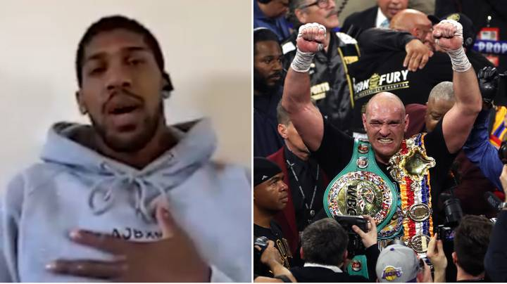 Tyson Fury Receives Fresh Call Out From Unified Heavyweight Champion Anthony Joshua