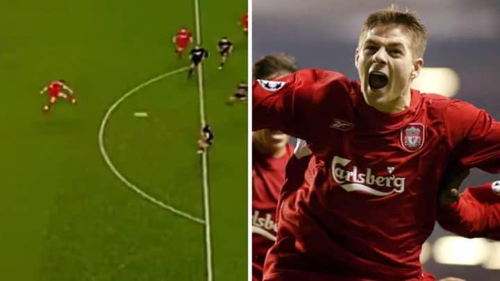 On This Day In 2004: Steven Gerrard Scores Sensational Late Goal Vs Olympiakos