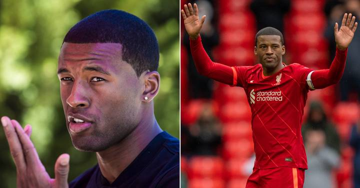 Tearful Georginio Wijnaldum Hints At Liverpool Issues As He Leaves Club