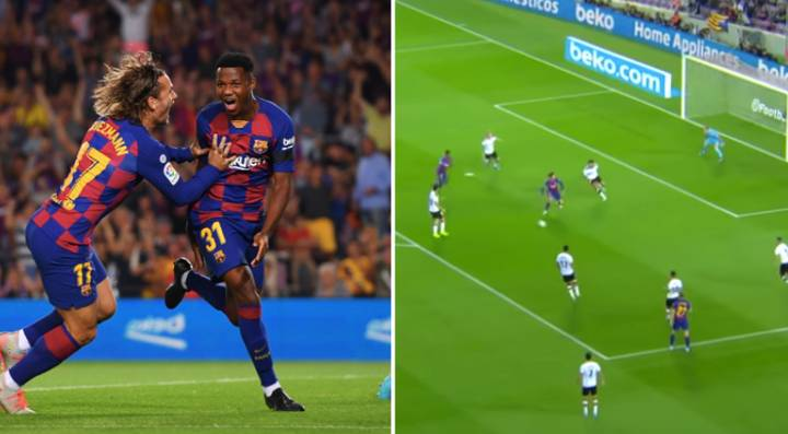 Ansu Fati, 16, Scores Two Minutes Into Full Barcelona Debut In Valencia Thrashing