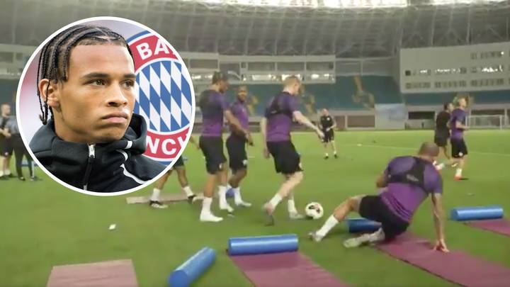 Leroy Sane Accidentally Drops Bombshell About A 'Potential Move To Bayern Munich' This Summer