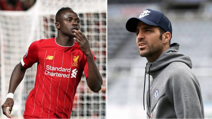 Cesc Fabregas' Tweet About Sadio Mane Goes Viral During Liverpool's Champions League Victory