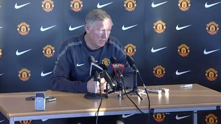 When Sir Alex Ferguson Ripped Into Journalists For 'Twisting' The Truth