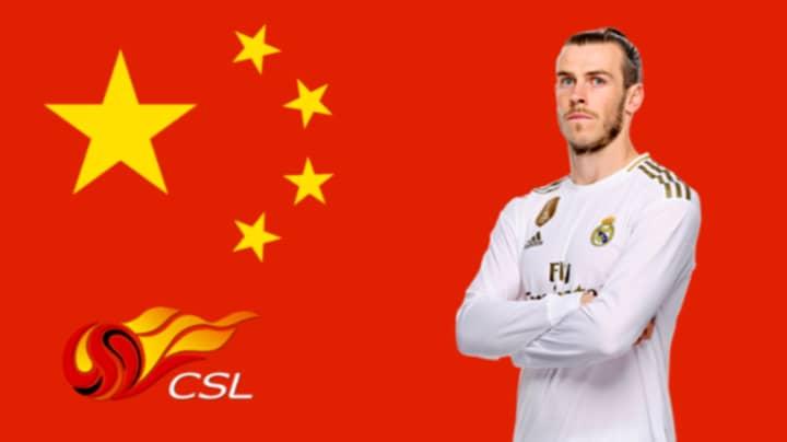 Gareth Bale Set To Join Chinese Super League Side Jiangsu Suning On Three-Year Contract