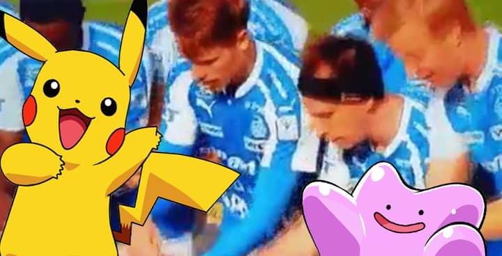 WATCH: Finnish Team Perform Pokemon GO Celebration