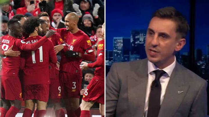 Gary Neville Talks Brilliantly About The Possibility Of Liverpool Dominating For Years