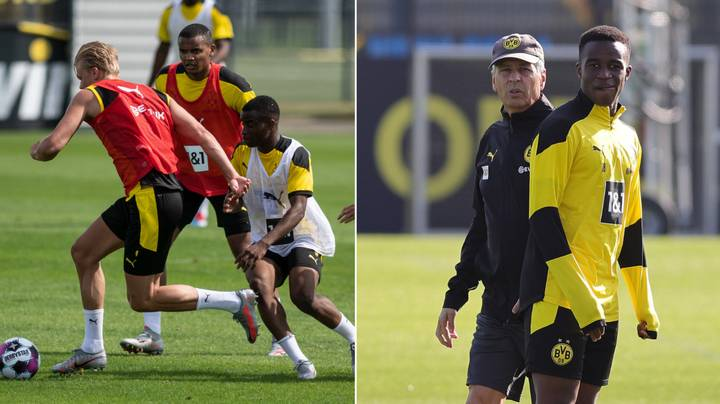 Borussia Dortmund To Name 15-Year-Old Wonderkid Youssoufa Moukoko In Champions League Squad