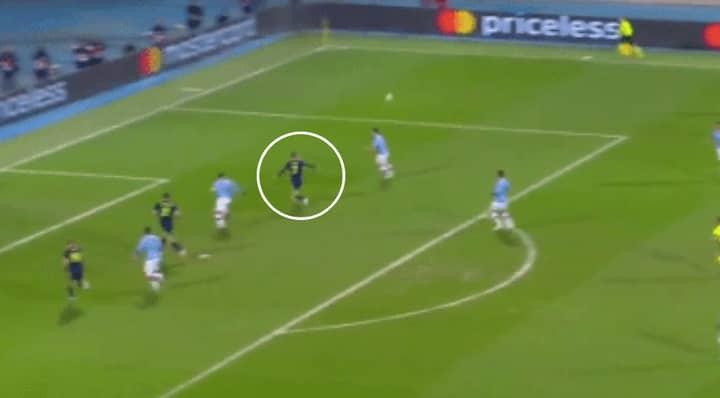 Dinamo Zagreb's Dani Olmo Scored A Beautiful Volley Against Manchester City