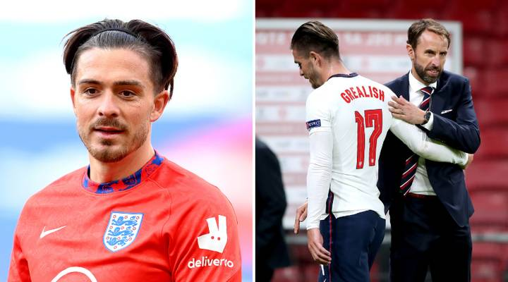 """Gary Neville Identifies The """"Problem"""" Jack Grealish Will Have Getting Into The England Team"""