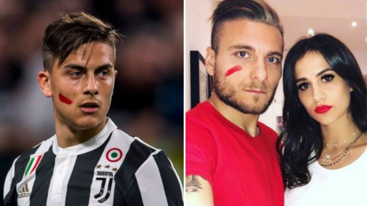 Serie A Players Will Wear Red Face Paint This Weekend To Raise Awareness Of Domestic Violence
