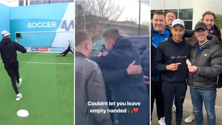 Jesse Lingard Gives Wimbledon Fans £600 In Classy Gesture
