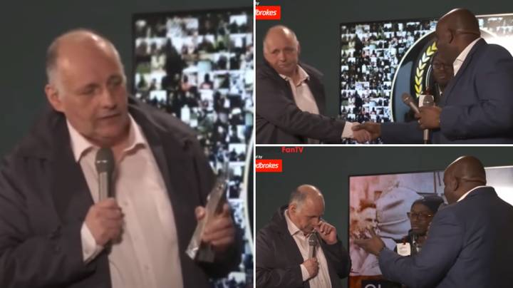 Claude's Emotional Speech Thanking AFTV Founder Robbie Lyle Has Resurfaced