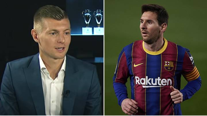 """Toni Kroos Says Lionel Messi """"Does Not Belong In The Top Three"""" Of The Best Awards"""