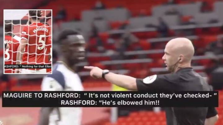 Clip Shows Conversation Between Manchester United Players When Anthony Martial Was Sent Off