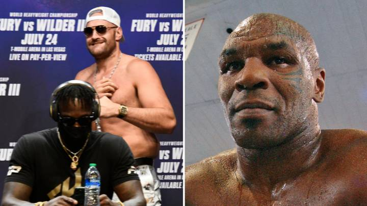 Mike Tyson Gives Deontay Wilder Advice For Fury Trilogy Fight, Says It's His Only Chance To Win