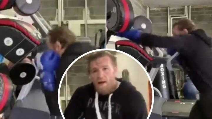 Conor McGregor's New Training Footage Has Got Fans Saying The Exact Same Thing