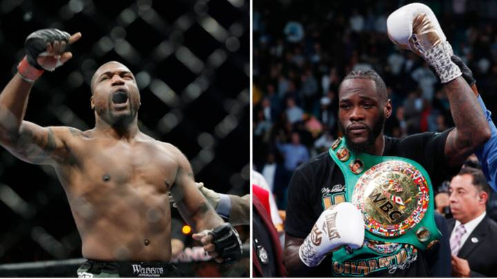 Rampage Jackson Would Fight Deontay Wilder In Boxing Match On Two Conditions