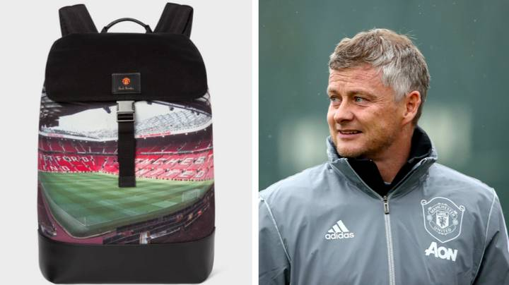 Man Utd Release Hideous £440 Backpack With A Picture Of Stretford End On