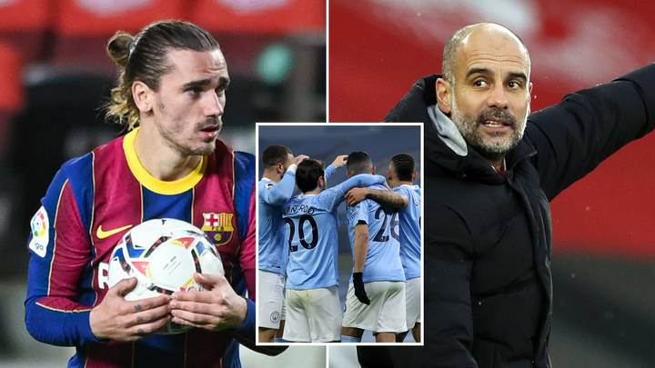 Barcelona Are Attemping To Swap Antoine Griezmann For Four Manchester City Players
