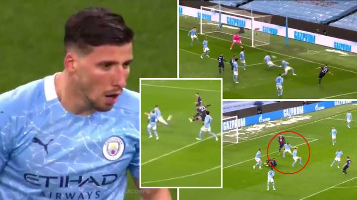 Ruben Dias Compilation vs PSG Is One Of The Best You Will Ever Witness From A Centre-Back