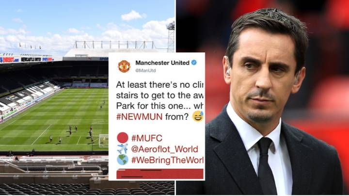 Manchester United Forced To Delete Tweet After It Was Slammed By Gary Neville And Fans