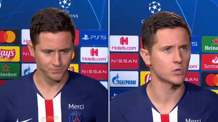 """PSG's Ander Herrera Says Champions League Final With No Fans Is """"S**t"""" In Brutally Honest Interview"""