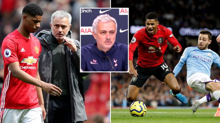 Jose Mourinho Responds To Marcus Rashford's Claim That He Taught Manchester United Players How To Win Penalties